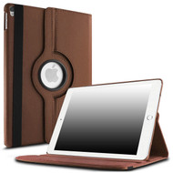 360 Degree Smart Rotating Leather Case for iPad Pro 12.9 inch (1st and 2nd Generation) - Brown