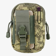 Tactical MOLLE Cell Phone Pouch - Digital Camouflage