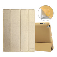All-In-One Smart Hybrid Case for iPad 2, iPad 3 and iPad 4th Generation - Gold