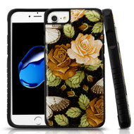 Tough Anti-Shock Triple Layer Hybrid Case for iPhone 8 / 7 / 6S / 6 - Lucky Flower