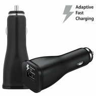 Adaptive Fast Charging Car Charger - Black