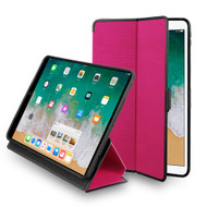 Smart Tech Folio Premium Hybrid Case with Auto Wake / Sleep for iPad Pro 10.5 inch - Hot Pink