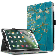 Slim Folding Smart Leather Folio Stand Case with Auto Wake / Sleep for iPad Pro 10.5 inch - Blossom