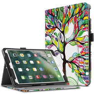 Slim Folding Smart Leather Folio Stand Case with Auto Wake / Sleep for iPad Pro 10.5 inch - Lucky Tree