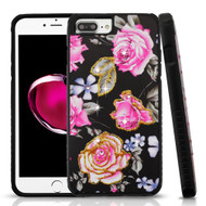 Tough Anti-Shock Hybrid Protection Case for iPhone 8 Plus / 7 Plus / 6S Plus / 6 Plus - City Flowers
