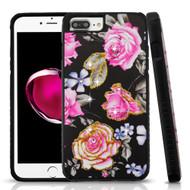Tough Anti-Shock Hybrid Protection Case for iPhone 8 Plus / 7 Plus / 6S Plus / 6 Plus - City Flowers