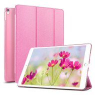 Smart Leather Hybrid Case with Translucent Back Cover and Screen Protector for iPad Pro 10.5 inch - Pink