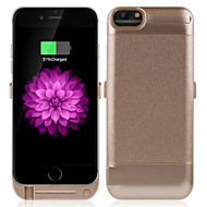 Power Bank Battery Case 5800mAh with External USB Charging Port for iPhone 8 / 7 / 6S / 6 - Gold