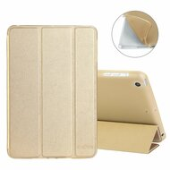 All-In-One Smart Leather Hybrid Case for iPad Mini - Gold