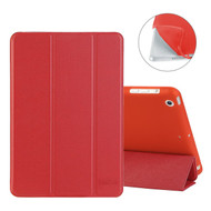 All-In-One Smart Leather Hybrid Case for iPad Mini - Red
