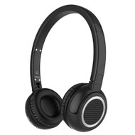 Bluetooth V4.0 Wireless Headphones with Microphone - Black