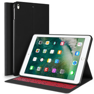 Smart Polyurethane Folio Hybrid Case with Auto Wake / Sleep for iPad Pro 10.5 inch - Black