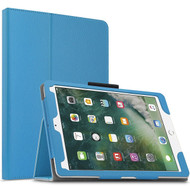 Leather Portfolio Smart Case for iPad Pro 10.5 inch - Baby Blue