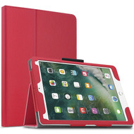 Leather Portfolio Smart Case for iPad Pro 10.5 inch - Red