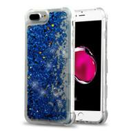 *Sale* Tuff Lite Quicksand Glitter Transparent Case for iPhone 8 Plus / 7 Plus / 6S Plus / 6 Plus - Blue