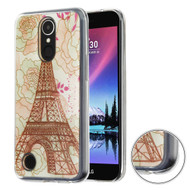 Air Cushion Shockproof Crystal TPU Case for LG K20 Plus / K20 V / K10 (2017) / Harmony - Eiffel Tower