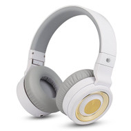AT&T PBH20 Bluetooth Wireless Stereo Headphones with Microphone - White