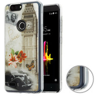 *Sale* Air Cushion Shockproof Crystal TPU Case for ZTE Blade Z Max - Big Ben