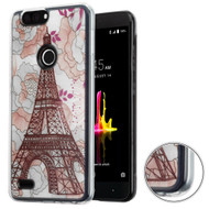 *Sale* Air Cushion Shockproof Crystal TPU Case for ZTE Blade Z Max - Eiffel Tower
