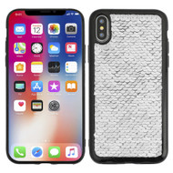 Sparkle Sequins Case for iPhone X - Silver