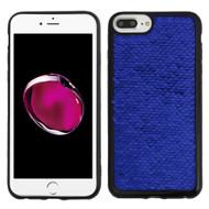 *Sale* Two-Tone Sparkle Sequins Case for iPhone 8 Plus / 7 Plus / 6S Plus / 6 Plus - Blue