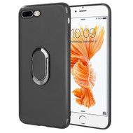 Ring Stent Finger Loop Case for iPhone 8 Plus / 7 Plus - Black