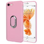 Ring Stent Finger Loop Case for iPhone 8 / 7 - Pink