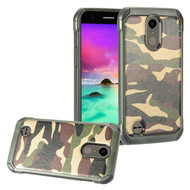 *SALE* Tough Anti-Shock Hybrid Case for LG K20 Plus / K20 V / K10 (2017) / Harmony - Camouflage