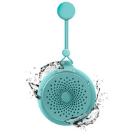 HyperGear Splash Water Resistant Bluetooth Wireless Speaker with Built-In Mic - Teal