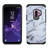*Sale* Hybrid Multi-Layer Armor Case for Samsung Galaxy S9 Plus - Marble White