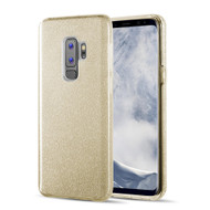 Full Glitter Hybrid Protective Case for Samsung Galaxy S9 Plus - Gold