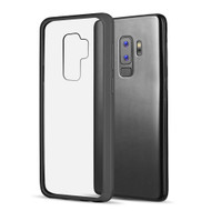 Polymer Transparent Hybrid Case for Samsung Galaxy S9 Plus - Black