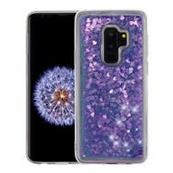 Quicksand Glitter Transparent Case for Samsung Galaxy S9 Plus - Purple