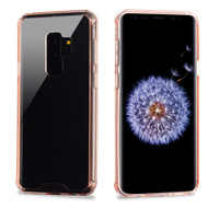 Ultra Hybrid Shock Absorbent Crystal Case for Samsung Galaxy S9 Plus - Rose Gold