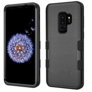 Military Grade Certified TUFF Hybrid Armor Case for Samsung Galaxy S9 Plus - Black