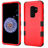 Military Grade Certified TUFF Hybrid Armor Case for Samsung Galaxy S9 Plus - Red