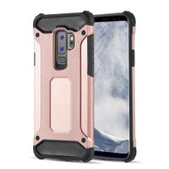 Extreme Armor Hybrid Case for Samsung Galaxy S9 Plus - Rose Gold