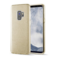 Full Glitter Hybrid Protective Case for Samsung Galaxy S9 - Gold