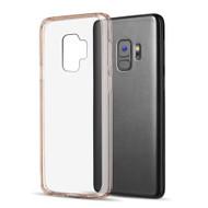 Polymer Transparent Hybrid Case for Samsung Galaxy S9 - Rose Gold