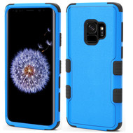 Military Grade Certified TUFF Hybrid Armor Case for Samsung Galaxy S9 - Blue