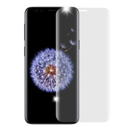 3D Curved Full Coverage Premium HD Tempered Glass Screen Protector for Samsung Galaxy S9 Plus - Clear