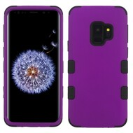 Military Grade Certified TUFF Hybrid Armor Case for Samsung Galaxy S9 - Purple