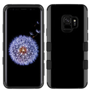 Military Grade Certified TUFF Hybrid Armor Case for Samsung Galaxy S9 - Jet Black