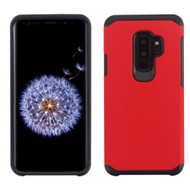 Hybrid Multi-Layer Armor Case for Samsung Galaxy S9 Plus - Red