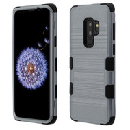 *Sale* Military Grade Certified Brushed TUFF Hybrid Armor Case for Samsung Galaxy S9 Plus - Slate Blue