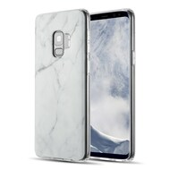 *Sale* Marble IMD Soft TPU Case for Samsung Galaxy S9 - White