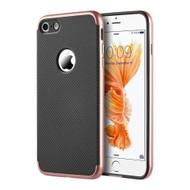 *Sale* Tough Elegance Bumper Frame Hybrid Case for iPhone 8 / 7 - Rose Gold