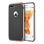 *Sale* Tough Elegance Bumper Frame Hybrid Case for iPhone 8 Plus / 7 Plus - Rose Gold