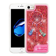 *Sale* Confetti Quicksand Glitter Transparent Case with Flashing LED Light for iPhone 8 / 7 - Dreamcatcher