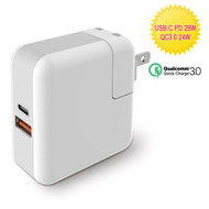Qualcomm Quick Charge 3.0 USB-C Wall Charger 29W - White